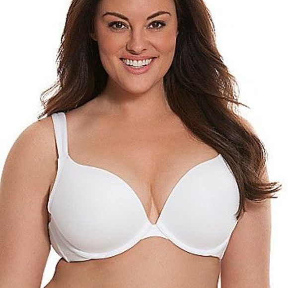 92290ce36d2c2 Cacique Other - White Plunge Bra by Cacique